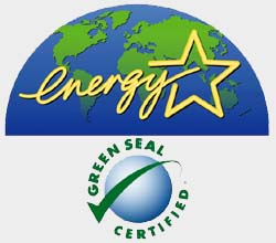 Energy Star & Green Seal Certified
